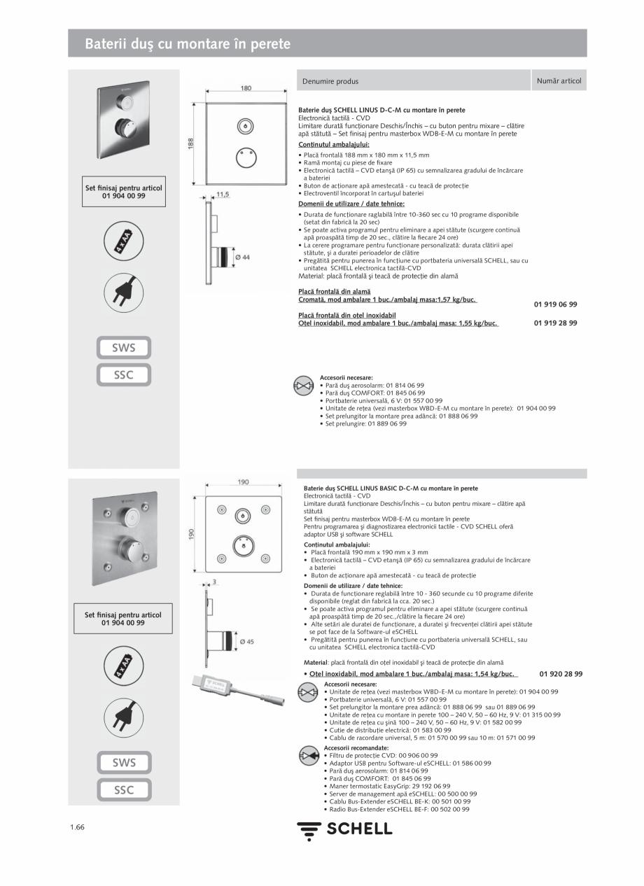 Pagina 84 - Schell - Catalog general - 2020-2021  Catalog, brosura Romana let M16 × 1 Material:...