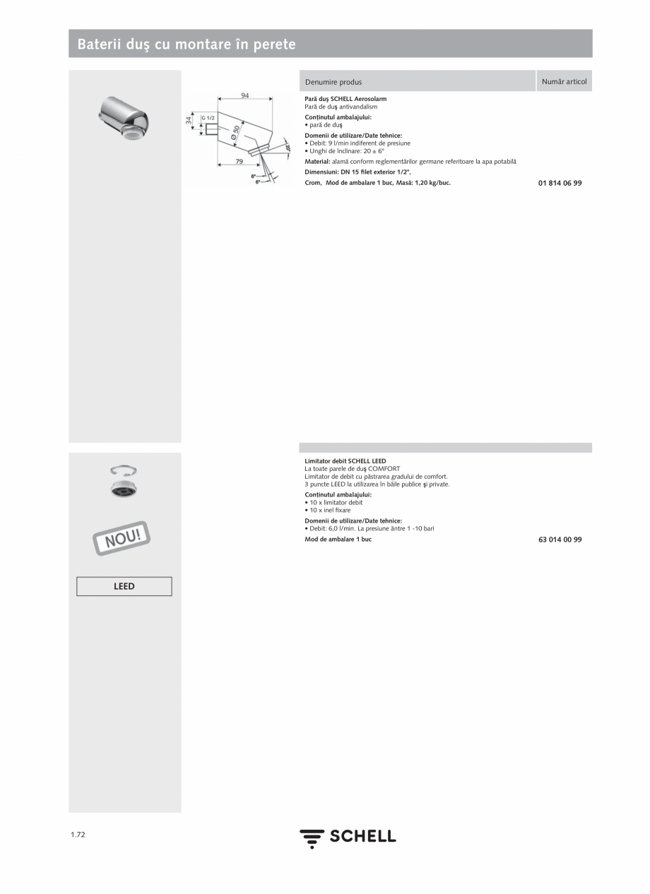 Pagina 90 - Schell - Catalog general - 2020-2021  Catalog, brosura Romana i cu deplasare.  1.16  98 ...