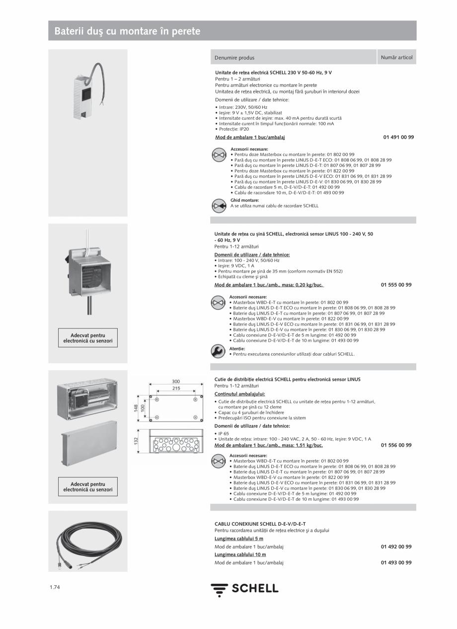 Pagina 92 - Schell - Catalog general - 2020-2021  Catalog, brosura Romana  pentru priză reţea...