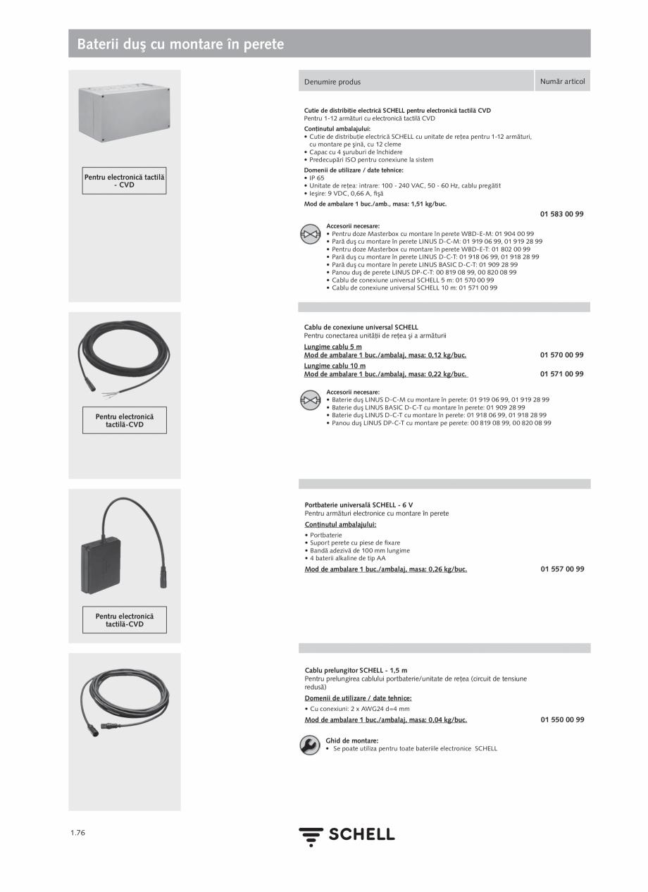 Pagina 94 - Schell - Catalog general - 2020-2021  Catalog, brosura Romana  apei stătute: 5 - 600...