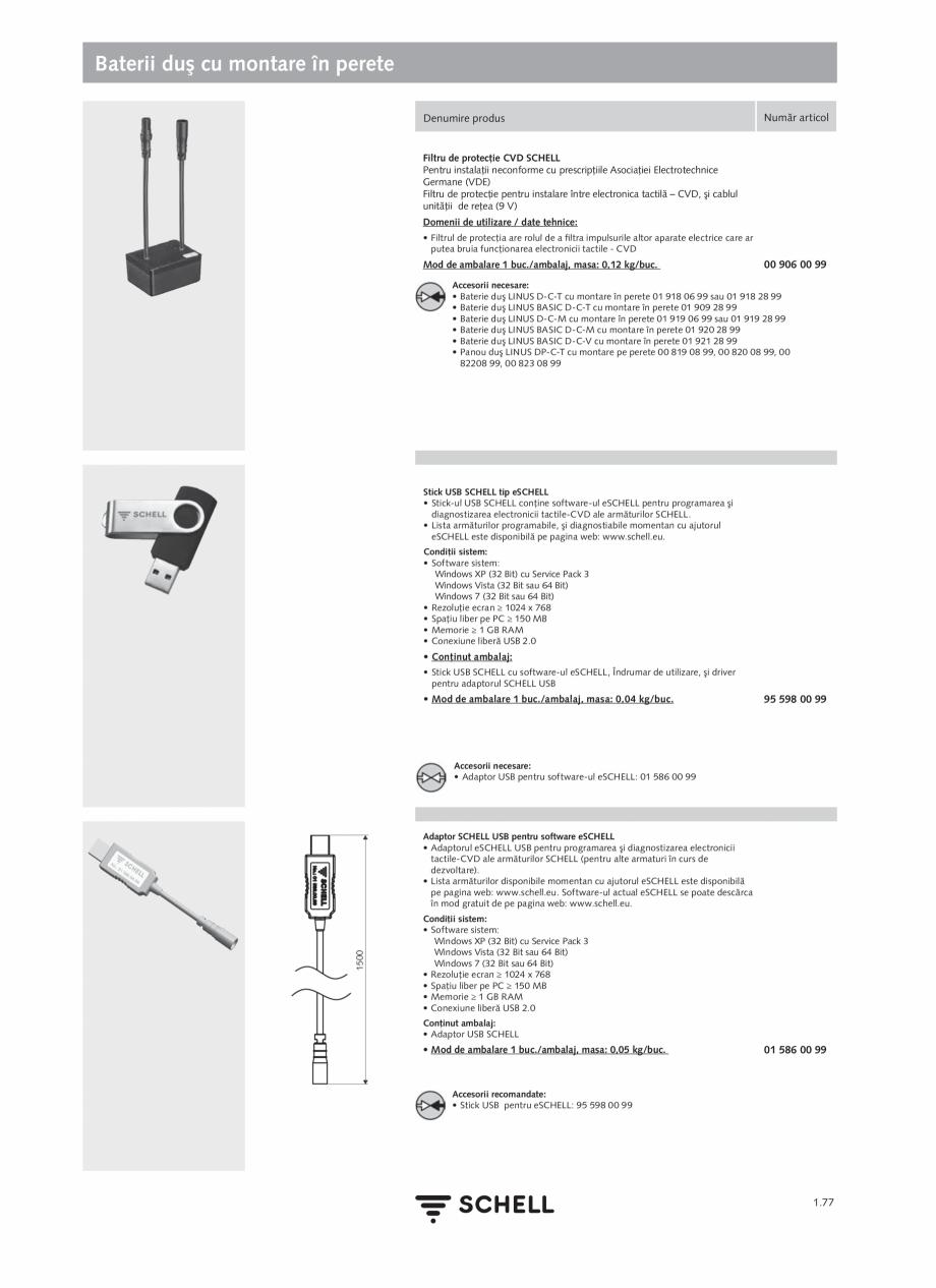 Pagina 95 - Schell - Catalog general - 2020-2021  Catalog, brosura Romana rogramabil • Cablu de...