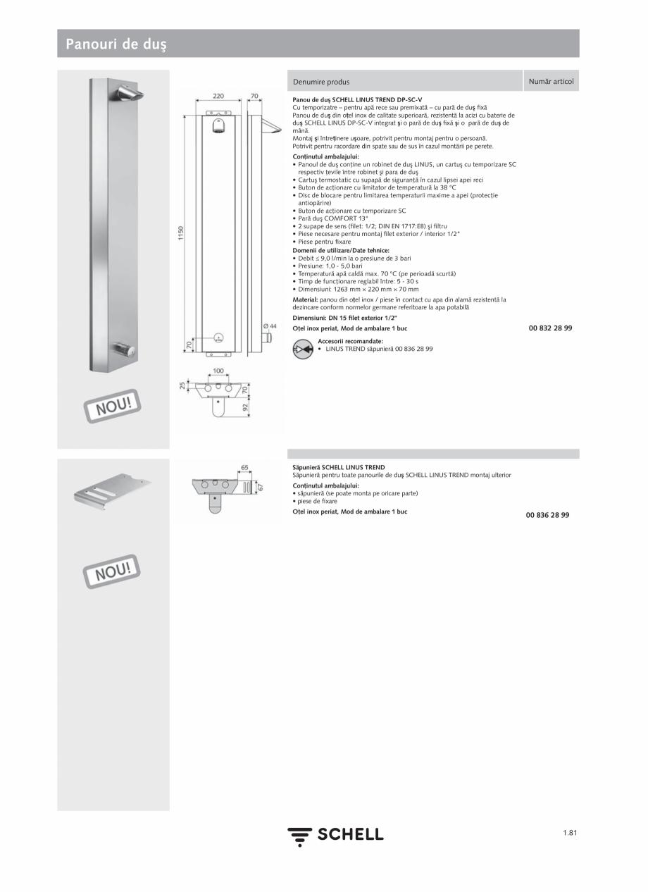 Pagina 99 - Schell - Catalog general - 2020-2021  Catalog, brosura Romana HD-M small (apă...