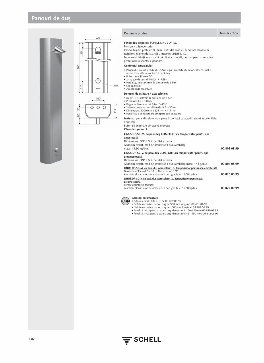Pagina 100 - Schell - Catalog general - 2020-2021  Catalog, brosura Romana  durată 30 s/ spălare...