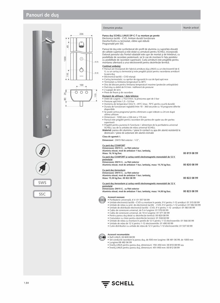 Pagina 102 - Schell - Catalog general - 2020-2021  Catalog, brosura Romana litate de setare cu...