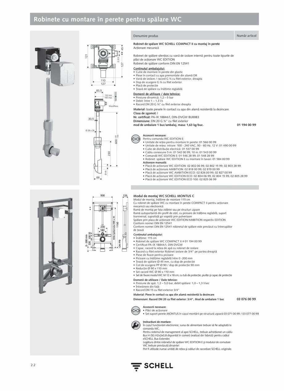 Pagina 106 - Schell - Catalog general - 2020-2021  Catalog, brosura Romana i flexibile Clean-Fix S...