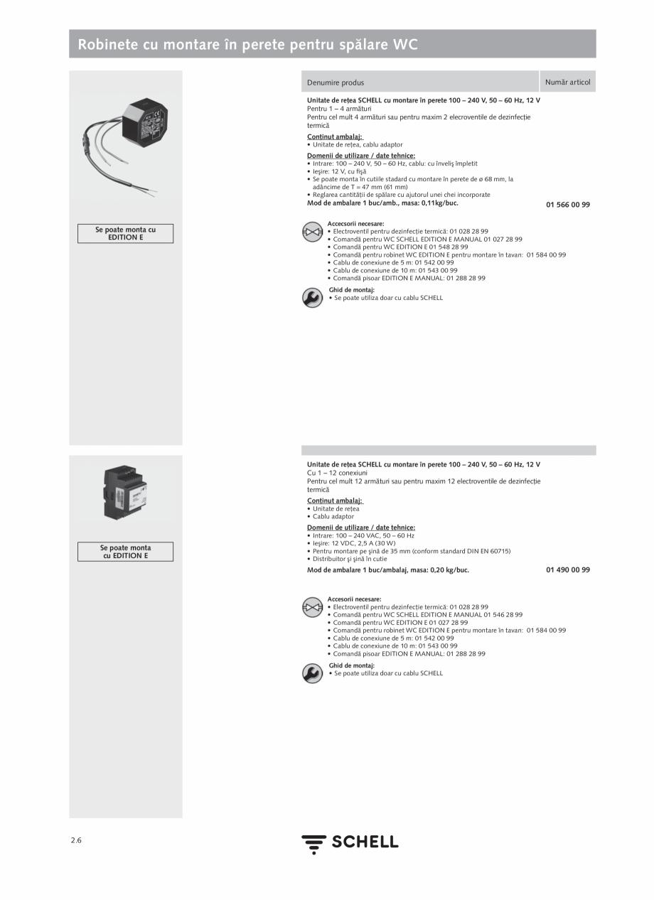 Pagina 110 - Schell - Catalog general - 2020-2021  Catalog, brosura Romana (Pentru apă...