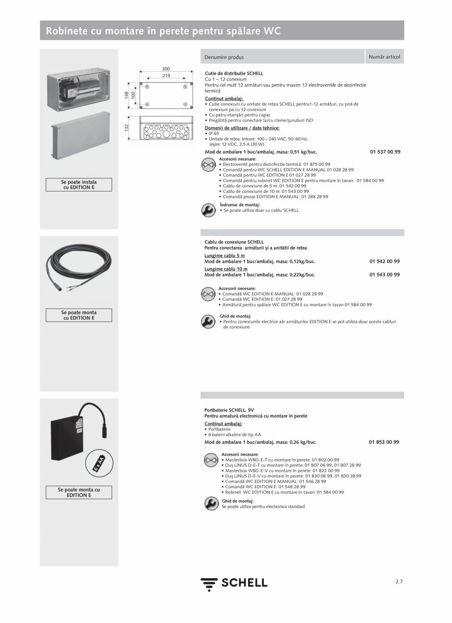 Pagina 111 - Schell - Catalog general - 2020-2021  Catalog, brosura Romana are utilizată pentru...