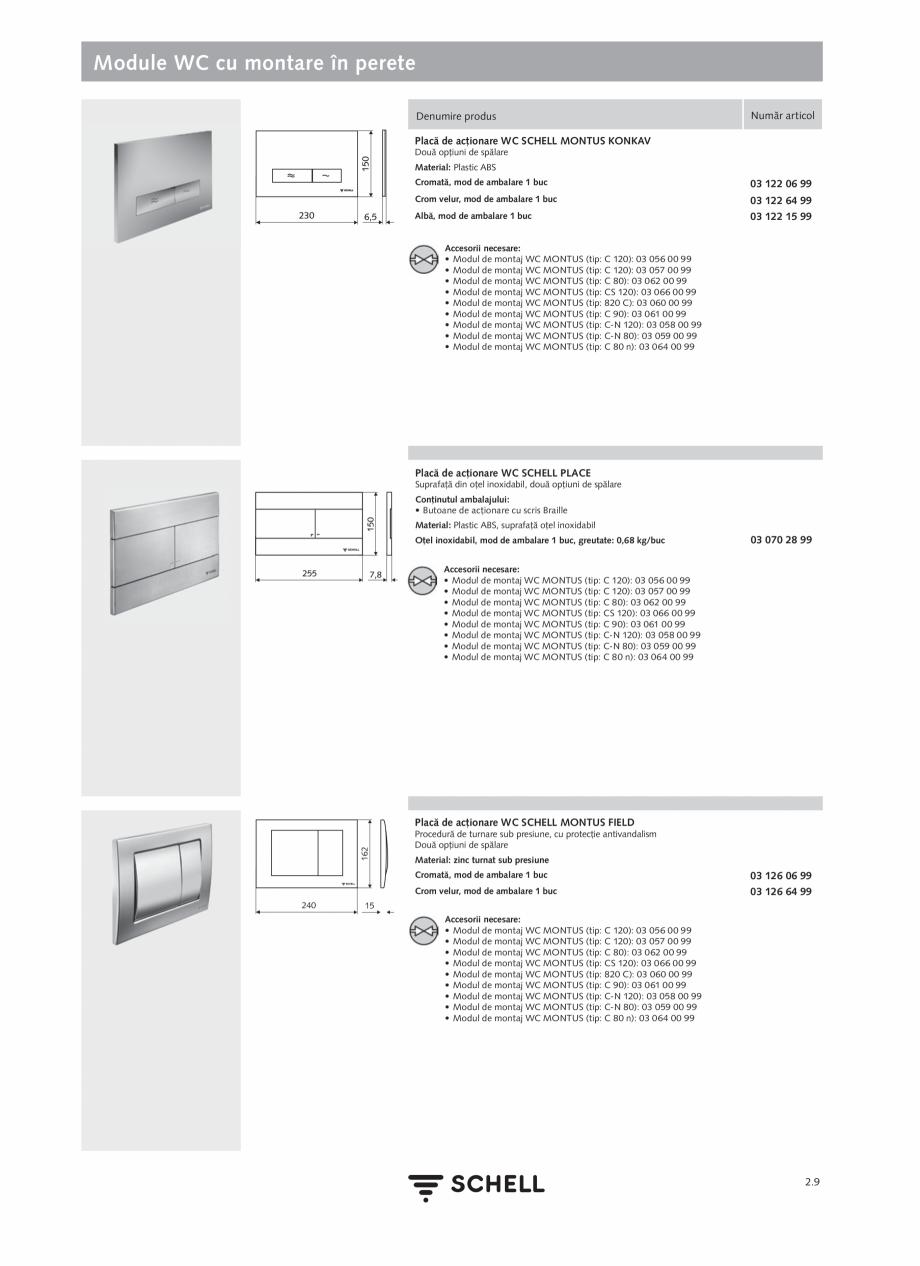 Pagina 113 - Schell - Catalog general - 2020-2021  Catalog, brosura Romana � Piese pentru fixare ...