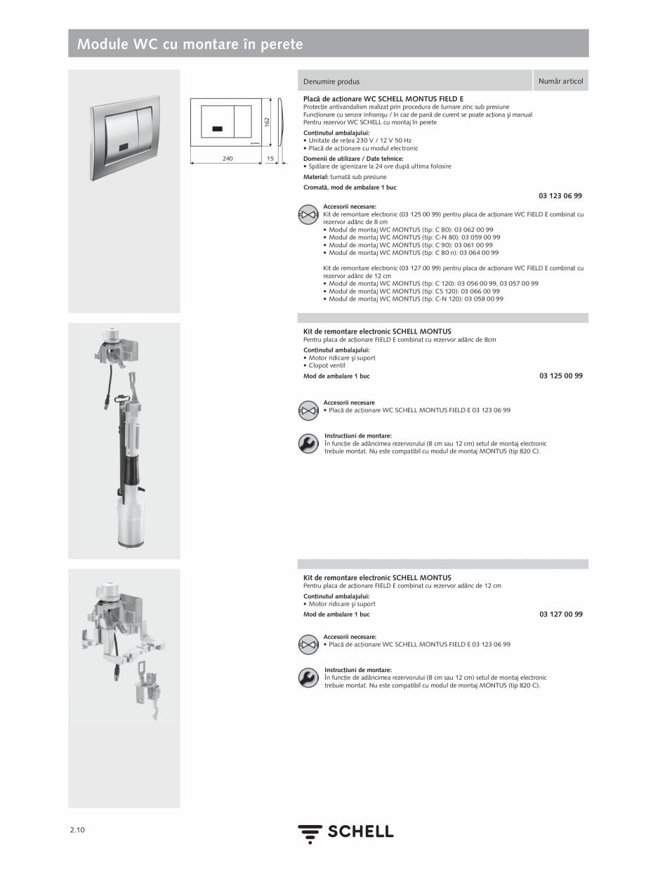 Pagina 114 - Schell - Catalog general - 2020-2021  Catalog, brosura Romana ţare 60 - 360 sec  SSC  ...