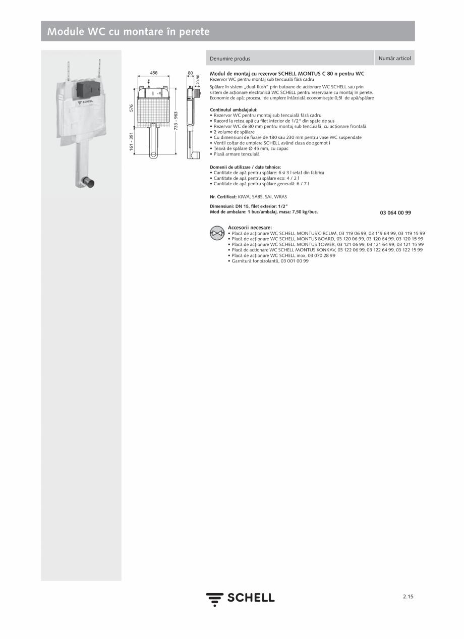Pagina 119 - Schell - Catalog general - 2020-2021  Catalog, brosura Romana programabilă prin...