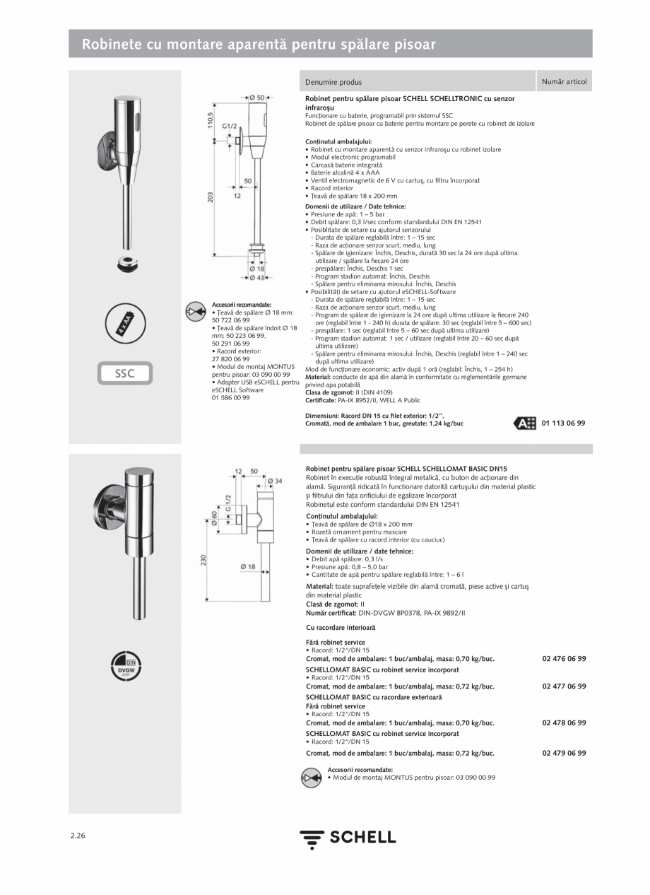 Pagina 130 - Schell - Catalog general - 2020-2021  Catalog, brosura Romana lasa de zgomot: I...