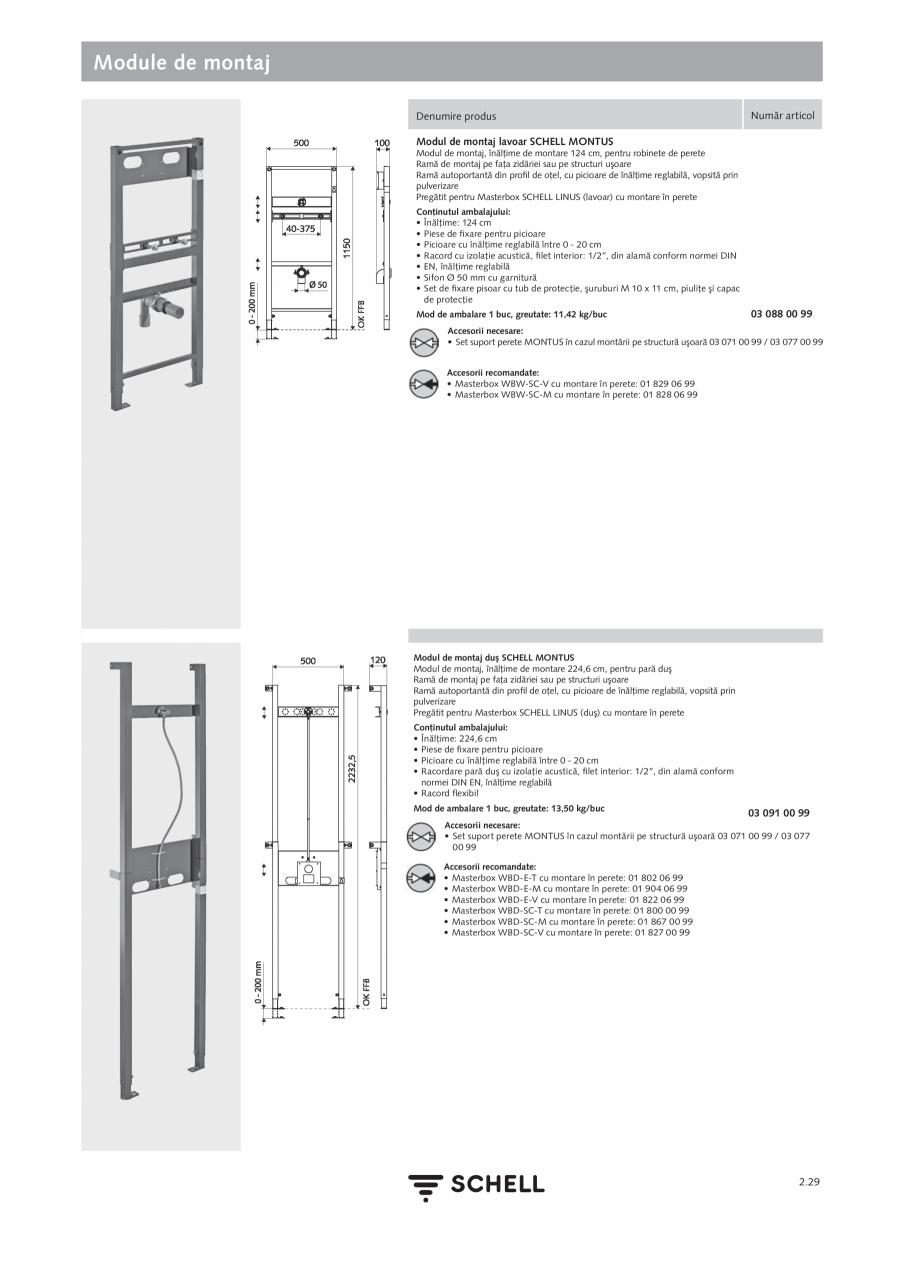 Pagina 133 - Schell - Catalog general - 2020-2021  Catalog, brosura Romana anetă pentru mixarea...