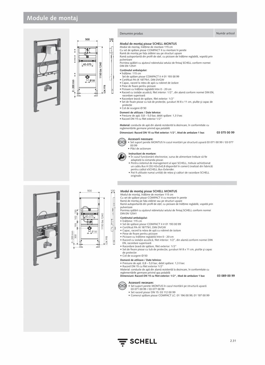 Pagina 135 - Schell - Catalog general - 2020-2021  Catalog, brosura Romana � ventil electromagnetic ...