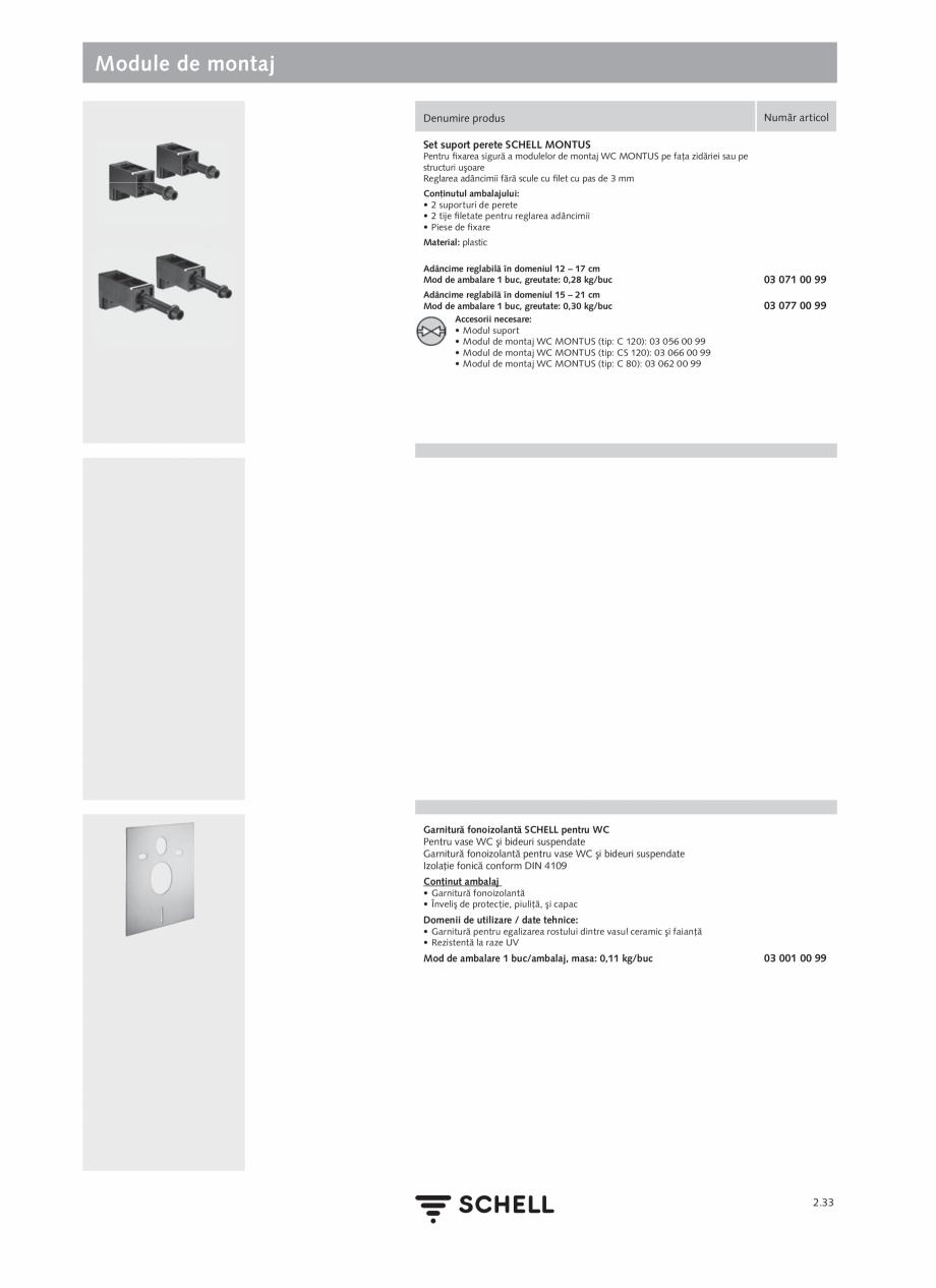 Pagina 137 - Schell - Catalog general - 2020-2021  Catalog, brosura Romana �� cablu de racordare cu ...