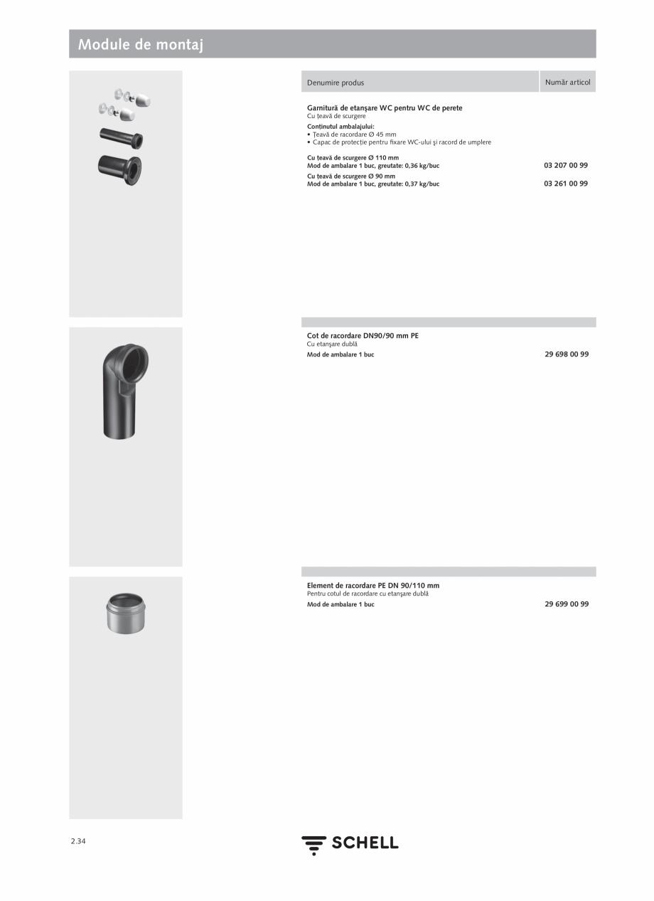 Pagina 138 - Schell - Catalog general - 2020-2021  Catalog, brosura Romana 6 - 60 sec - Durata de...