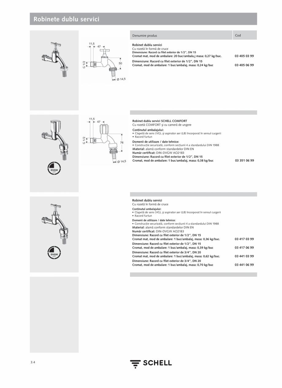 Pagina 142 - Schell - Catalog general - 2020-2021  Catalog, brosura Romana  Raza de acţionare...