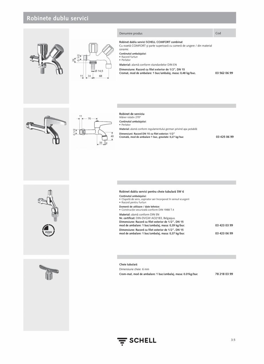 Pagina 143 - Schell - Catalog general - 2020-2021  Catalog, brosura Romana te: 2,58 kg/buc Cu...