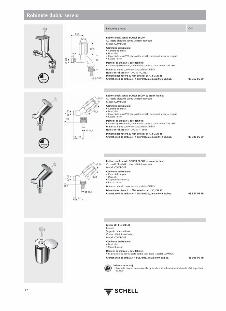 Pagina 144 - Schell - Catalog general - 2020-2021  Catalog, brosura Romana t interior 3/8 x 380 mm...