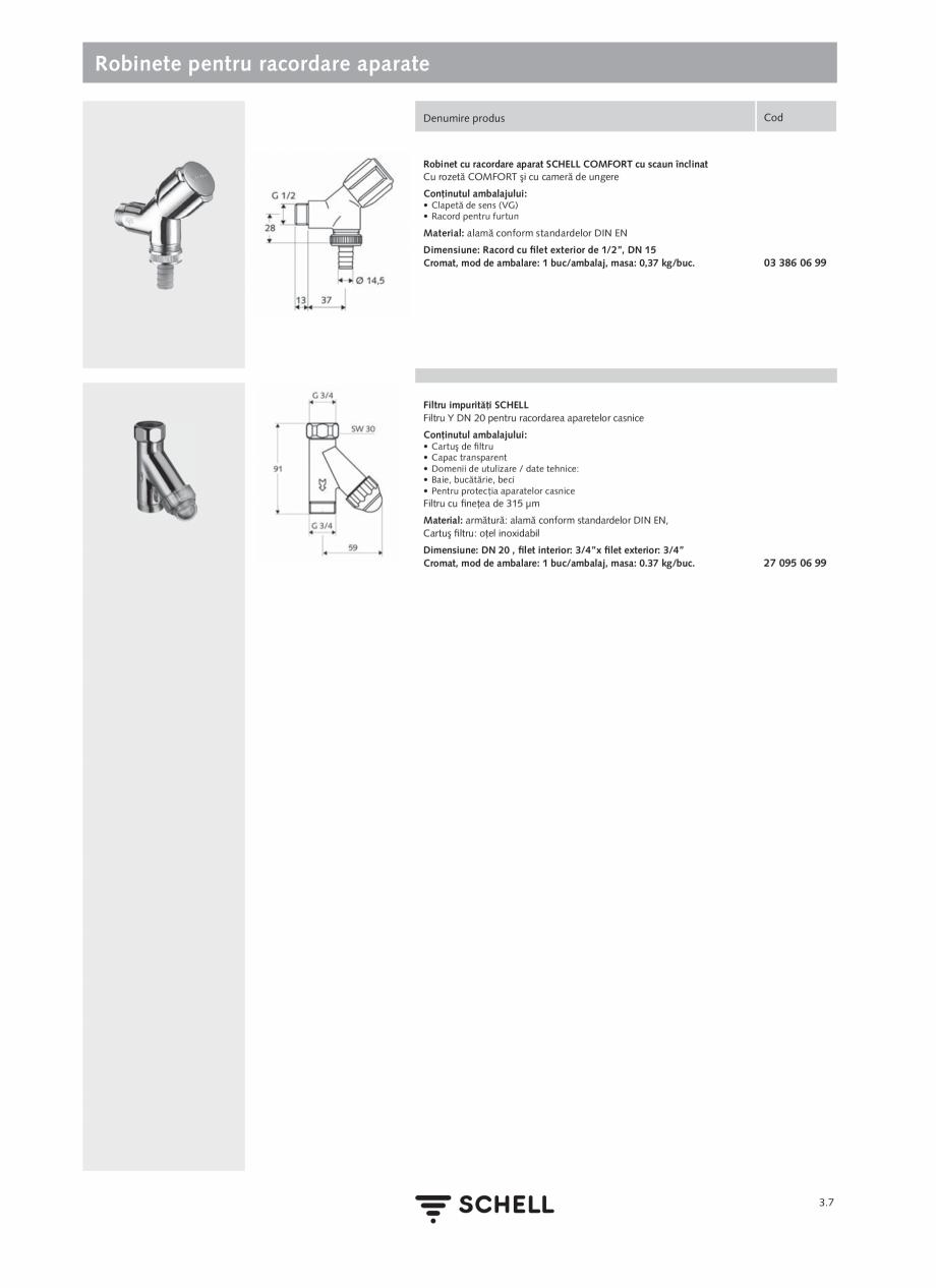 Pagina 145 - Schell - Catalog general - 2020-2021  Catalog, brosura Romana � 120 sec - Funcţie stop...