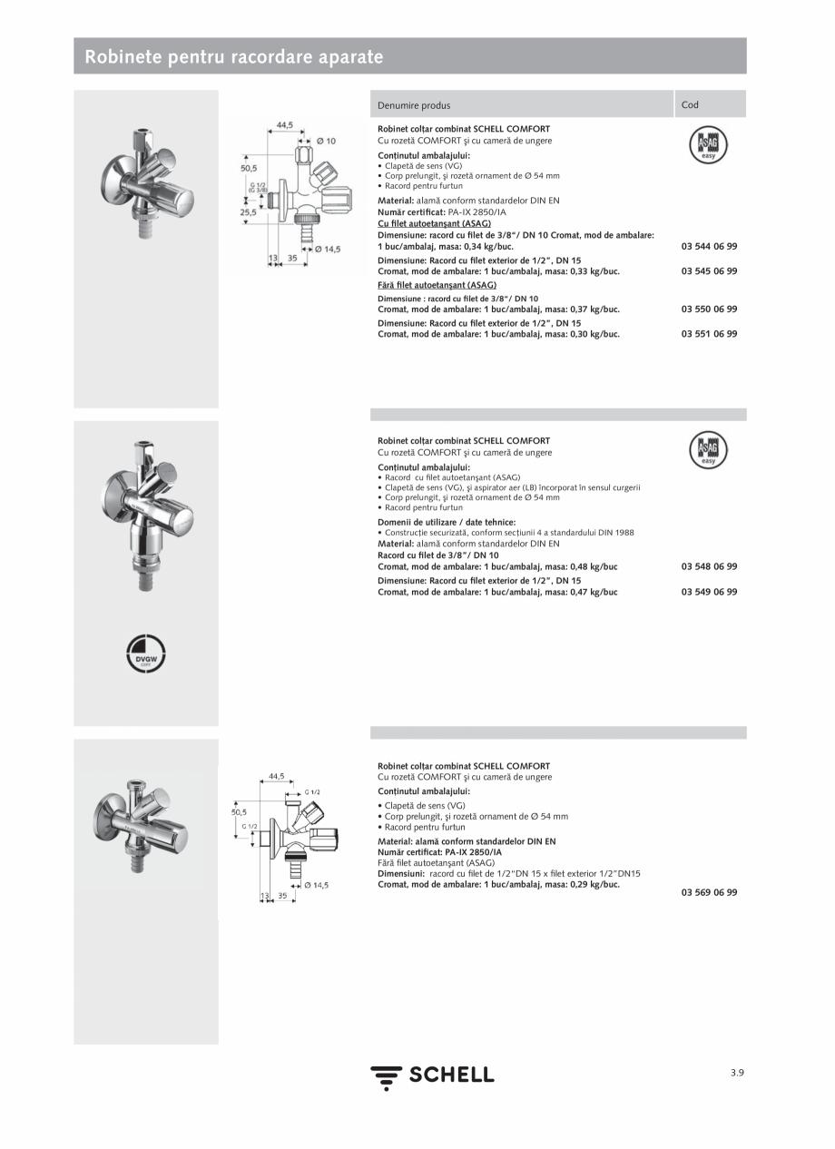 Pagina 147 - Schell - Catalog general - 2020-2021  Catalog, brosura Romana durată 30 s/ spălare la...