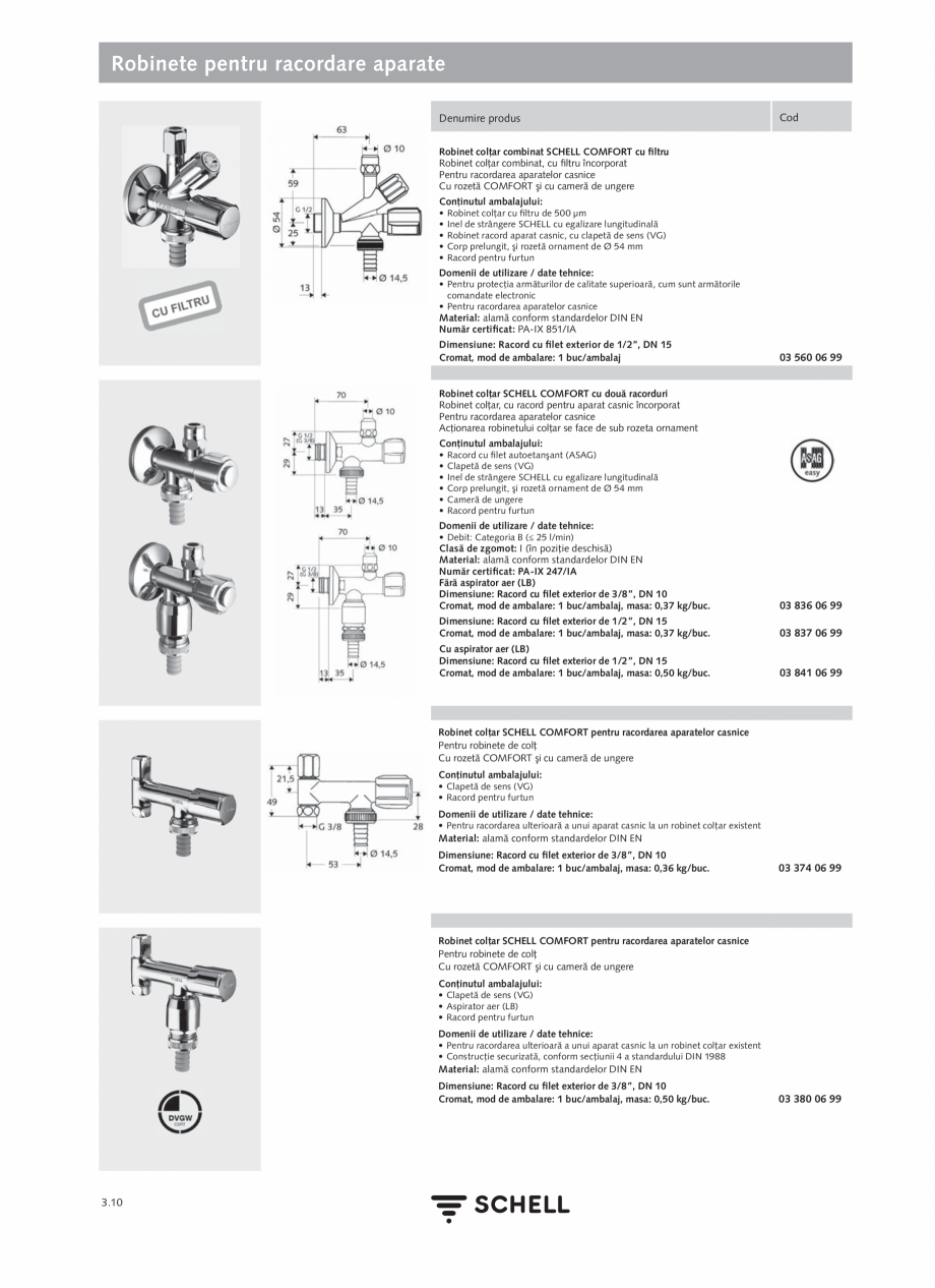 Pagina 148 - Schell - Catalog general - 2020-2021  Catalog, brosura Romana lasa de zgomot: I...