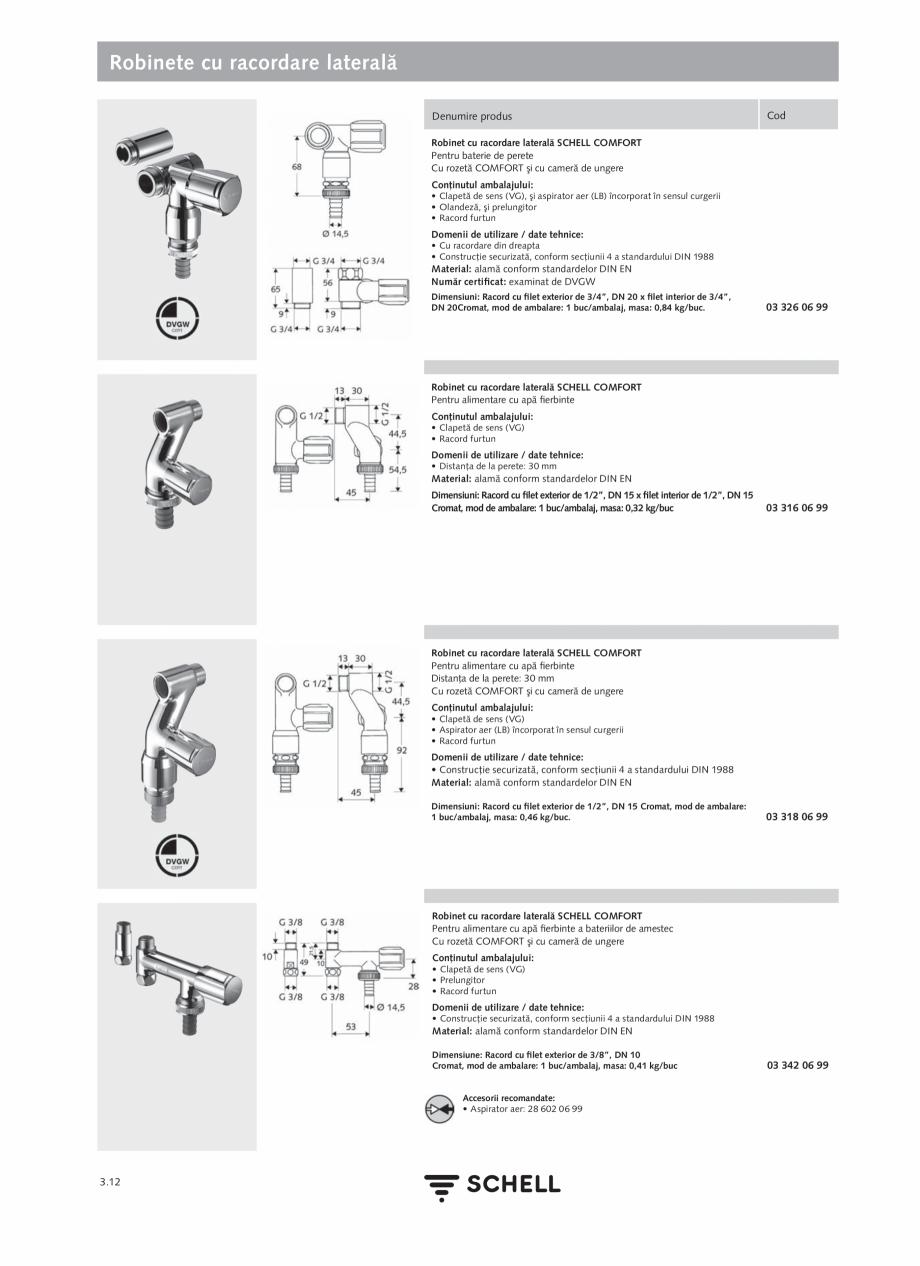 Pagina 150 - Schell - Catalog general - 2020-2021  Catalog, brosura Romana i german privind apa...