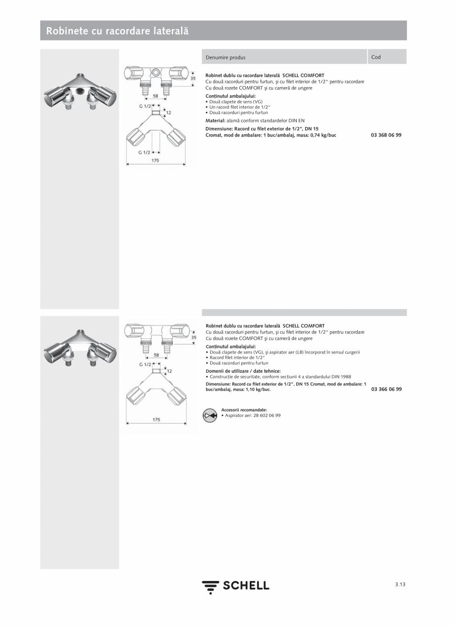 Pagina 151 - Schell - Catalog general - 2020-2021  Catalog, brosura Romana de reţinere integrat...