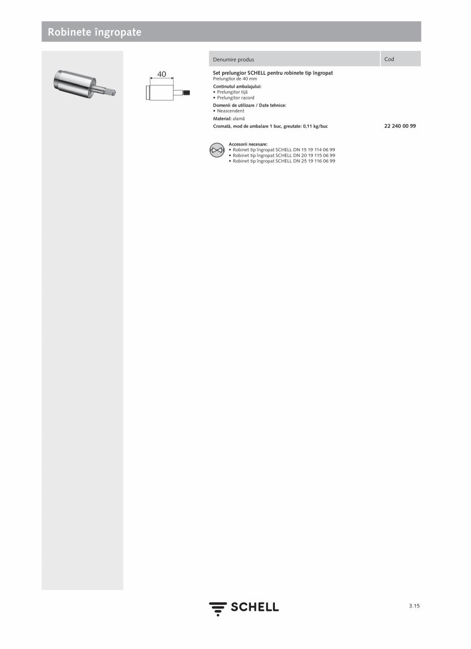 Pagina 153 - Schell - Catalog general - 2020-2021  Catalog, brosura Romana onţinutul ambalajului:...