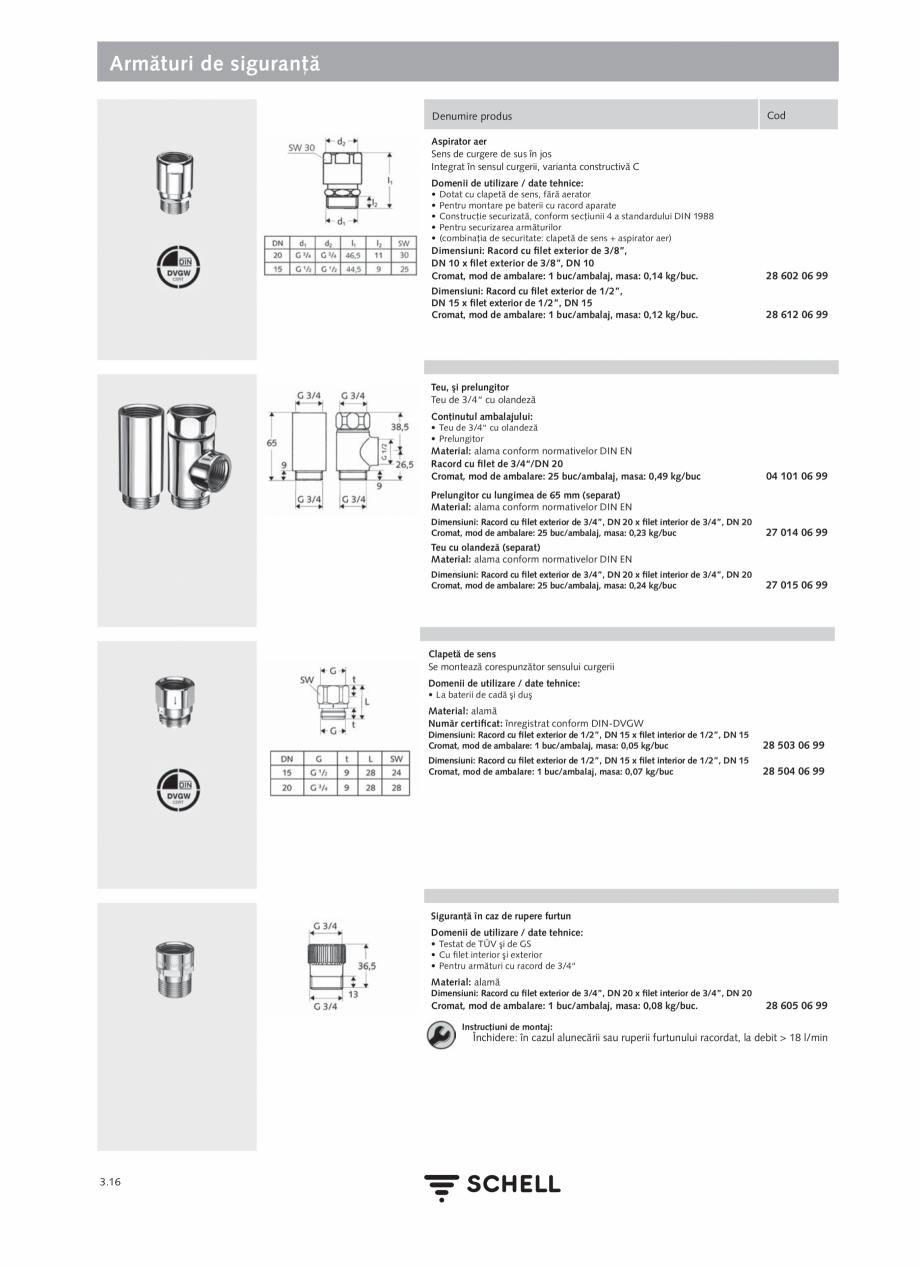 Pagina 154 - Schell - Catalog general - 2020-2021  Catalog, brosura Romana e setare cu ajutorul...