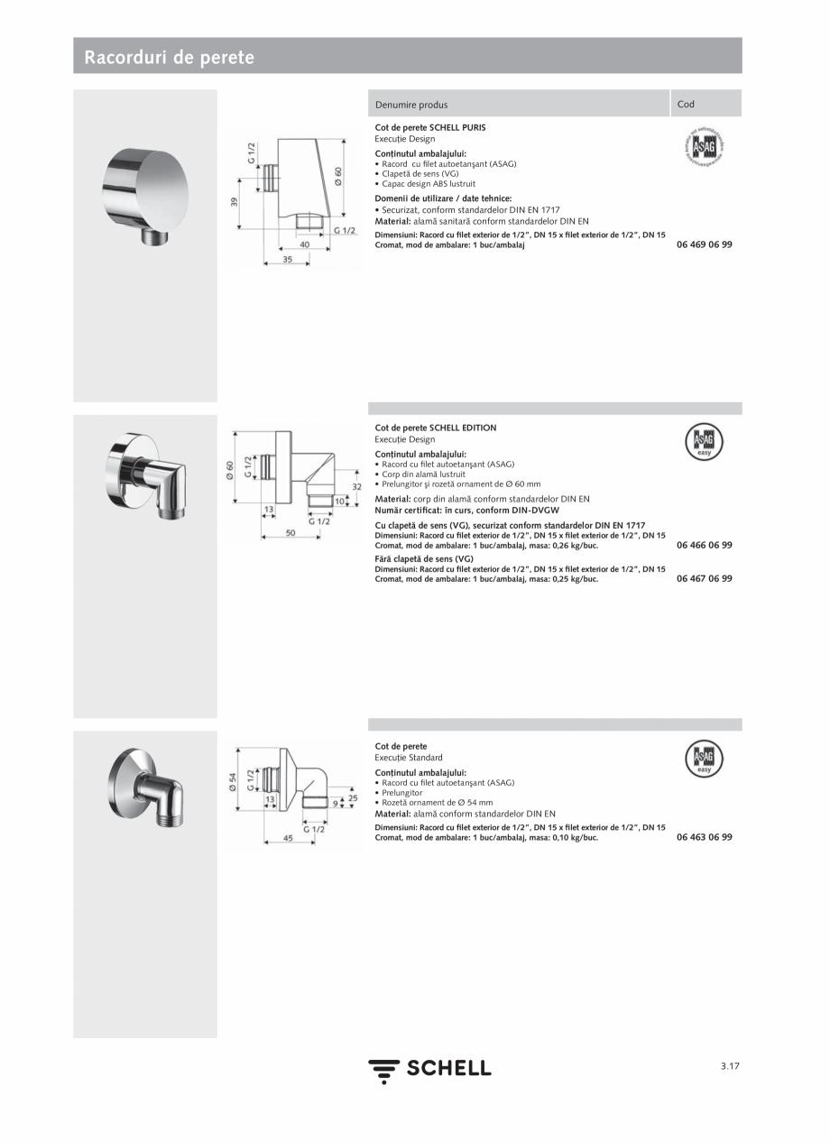 Pagina 155 - Schell - Catalog general - 2020-2021  Catalog, brosura Romana  apei eSCHELL (SWS),...