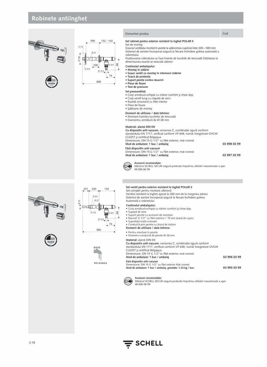 Pagina 156 - Schell - Catalog general - 2020-2021  Catalog, brosura Romana  spălare: 1 - 360 sec - ...