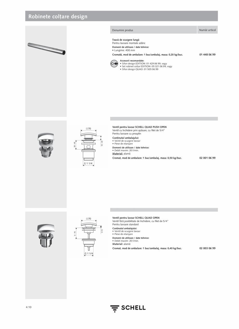 Pagina 168 - Schell - Catalog general - 2020-2021  Catalog, brosura Romana tor antifurt UNIVERSAL:...