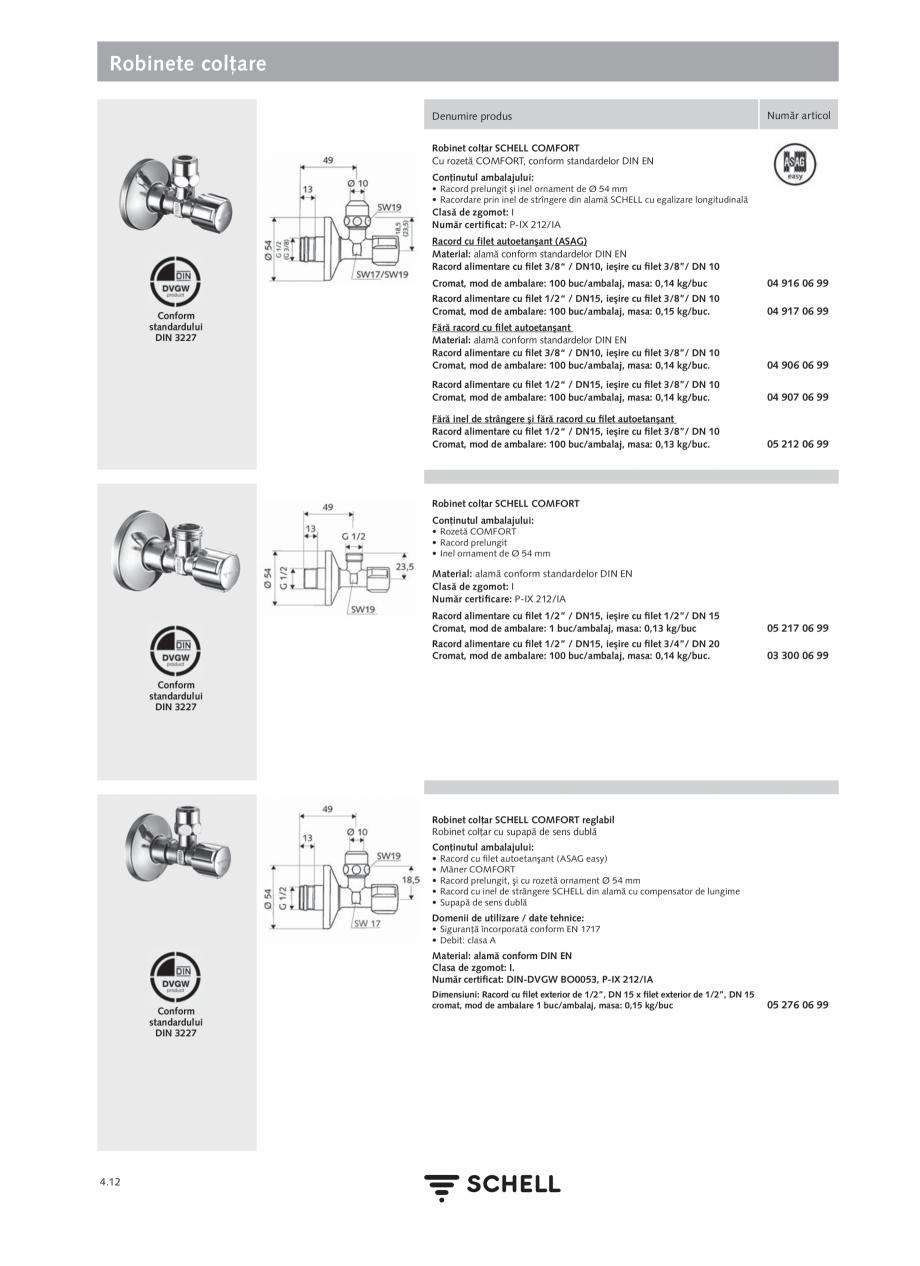 Pagina 170 - Schell - Catalog general - 2020-2021  Catalog, brosura Romana rtificate: WELL Public...