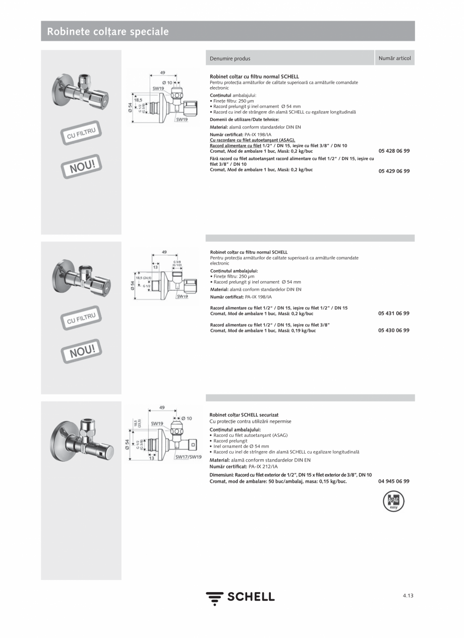 Pagina 171 - Schell - Catalog general - 2020-2021  Catalog, brosura Romana n fabrică la 7 sec) • ...