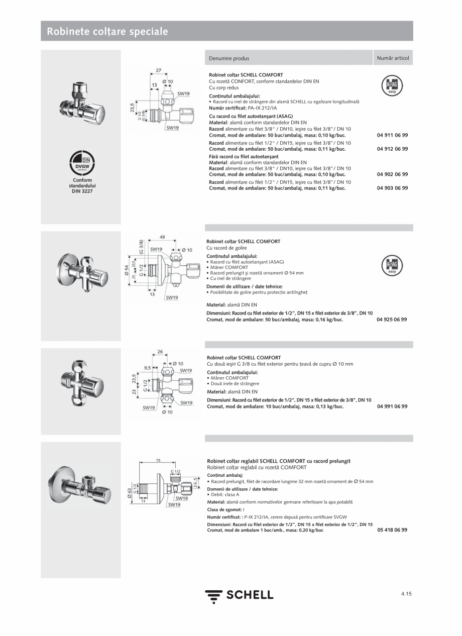 Pagina 173 - Schell - Catalog general - 2020-2021  Catalog, brosura Romana �� 2 filtre • Piese...