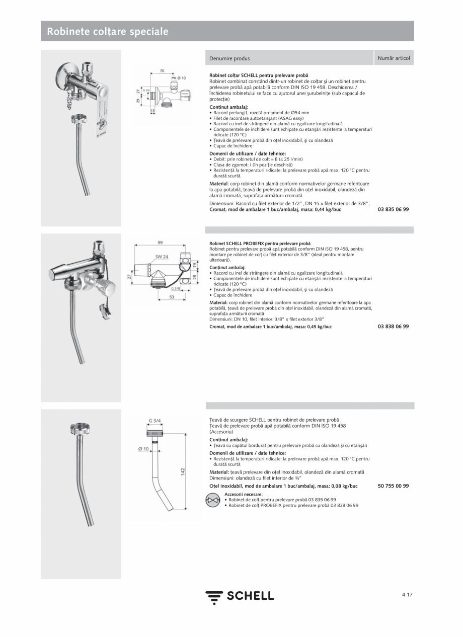 Pagina 175 - Schell - Catalog general - 2020-2021  Catalog, brosura Romana mplet din metal, cu...