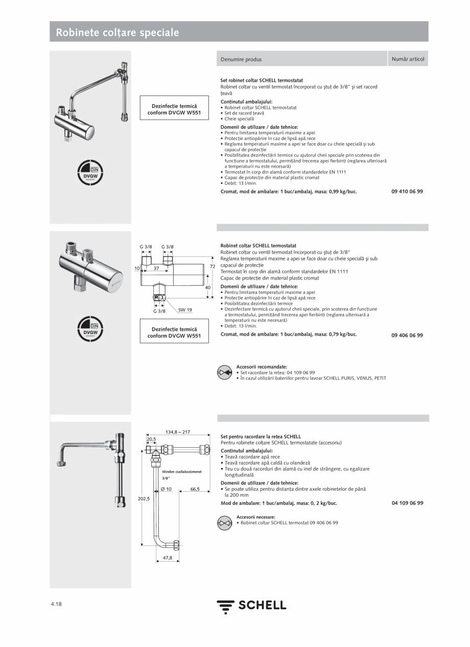 Pagina 176 - Schell - Catalog general - 2020-2021  Catalog, brosura Romana 06 558 12 99 • Perlator...