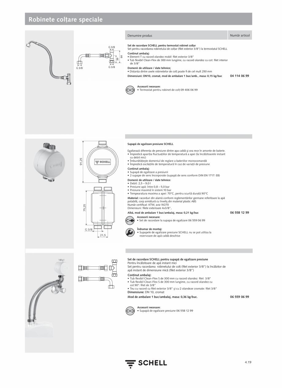 Pagina 177 - Schell - Catalog general - 2020-2021  Catalog, brosura Romana oar SCHELL MODUS EH HD-M ...