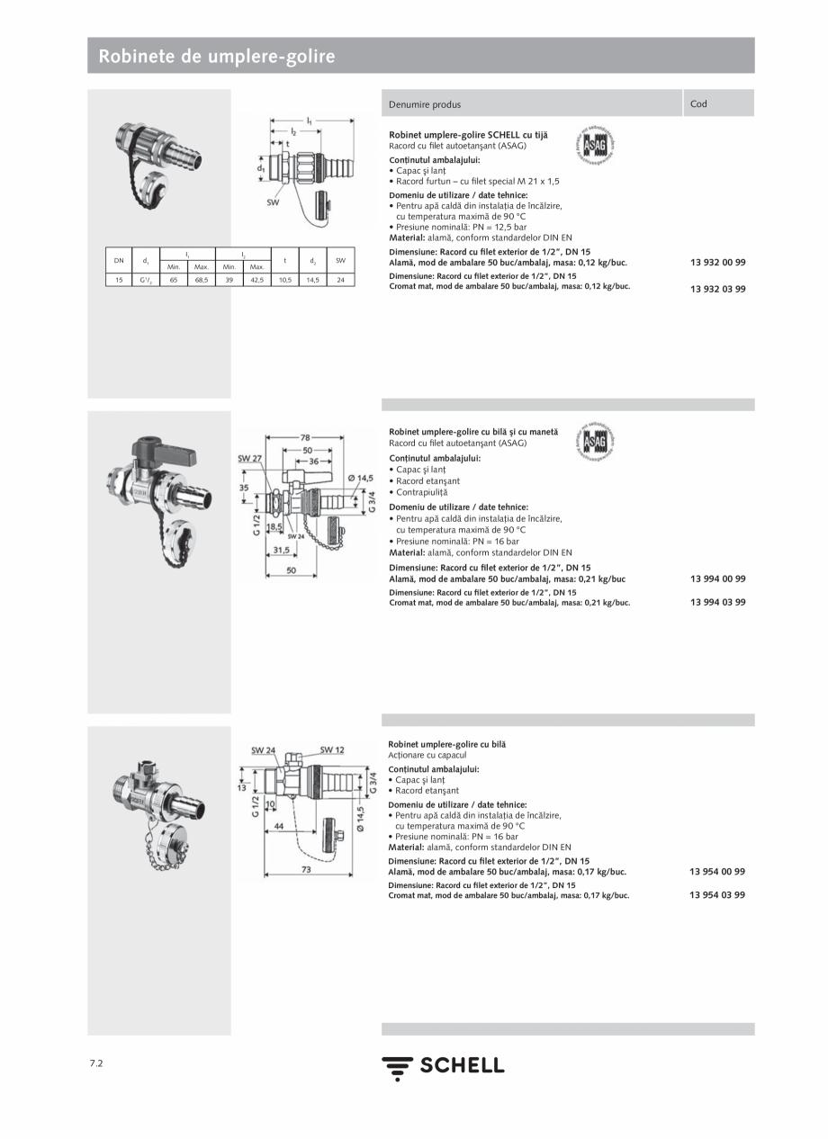 Pagina 182 - Schell - Catalog general - 2020-2021  Catalog, brosura Romana ETIT SC Prelungitor de 60...
