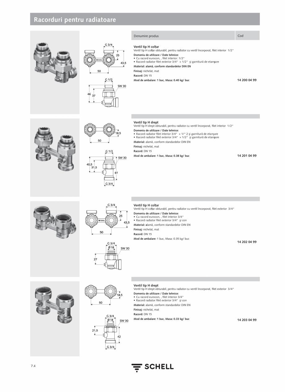 Pagina 184 - Schell - Catalog general - 2020-2021  Catalog, brosura Romana e prin software eSCHELL...