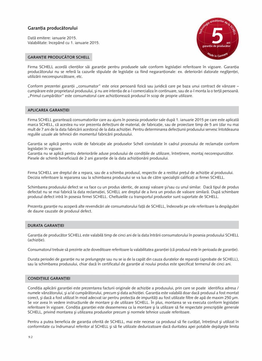Pagina 186 - Schell - Catalog general - 2020-2021  Catalog, brosura Romana ire produs  Număr...