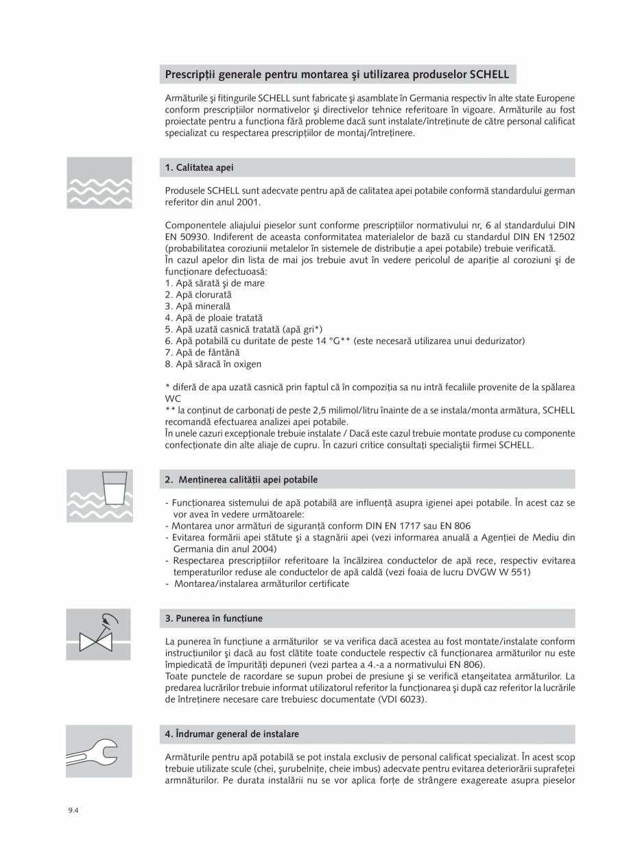 Pagina 188 - Schell - Catalog general - 2020-2021  Catalog, brosura Romana  W551* a normativului...