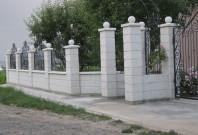 Garduri modulare din beton pentru curte si gradina