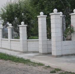 Garduri modulare din beton pentru curte si gradina Prefabet
