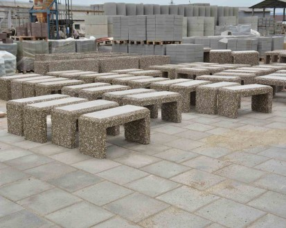 Mobilier urban / Banci din beton