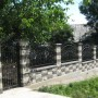 Gard Split alb/negru