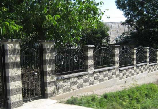 Garduri modulare din beton Split Prefabet