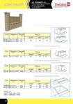 Gard modular Arcada / Garduri modulare din beton Arcada / PREFABET SUCEAVA