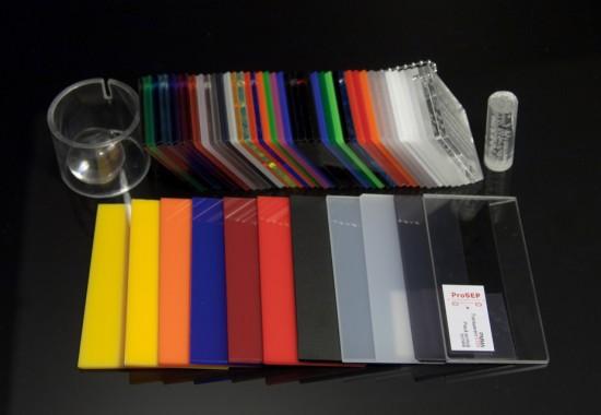 Placi acrilice turnate pentru publicitate, mobilier, arhitectura, constructii, design interior Plazcast ProSEP