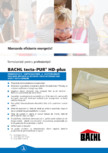 Placi termoizolante rigide din poliuretan BACHL - tecta-PUR® HD-plus